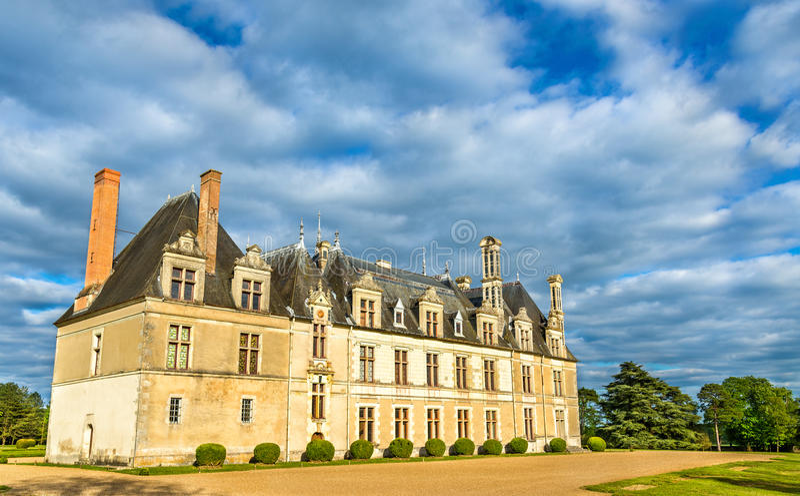 Chateau de Beauregard,一卢瓦尔河流域在法国防御 免版税库存照片