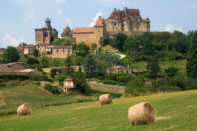 Chateau de Biron, Γαλλία στοκ φωτογραφία με δικαίωμα ελεύθερης χρήσης