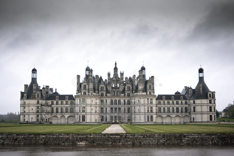 Chateau de Chambord, κοιλάδα της Loire, Γαλλία στοκ φωτογραφίες με δικαίωμα ελεύθερης χρήσης