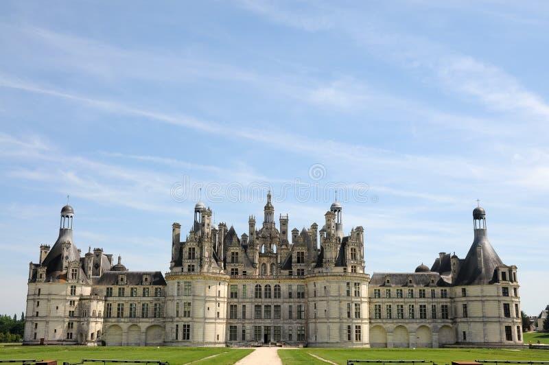 Chateau de Chambord stock photo