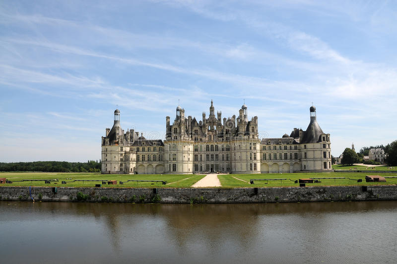 Chateau de Chambord royalty free stock photos