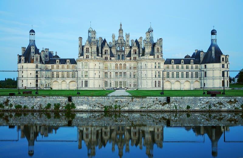 Chateau de Chambord lizenzfreie stockfotografie