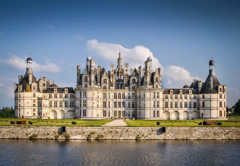 Chateau de Chambord arkivbild