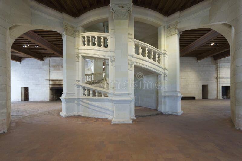 Chateau de Chambord stockbilder