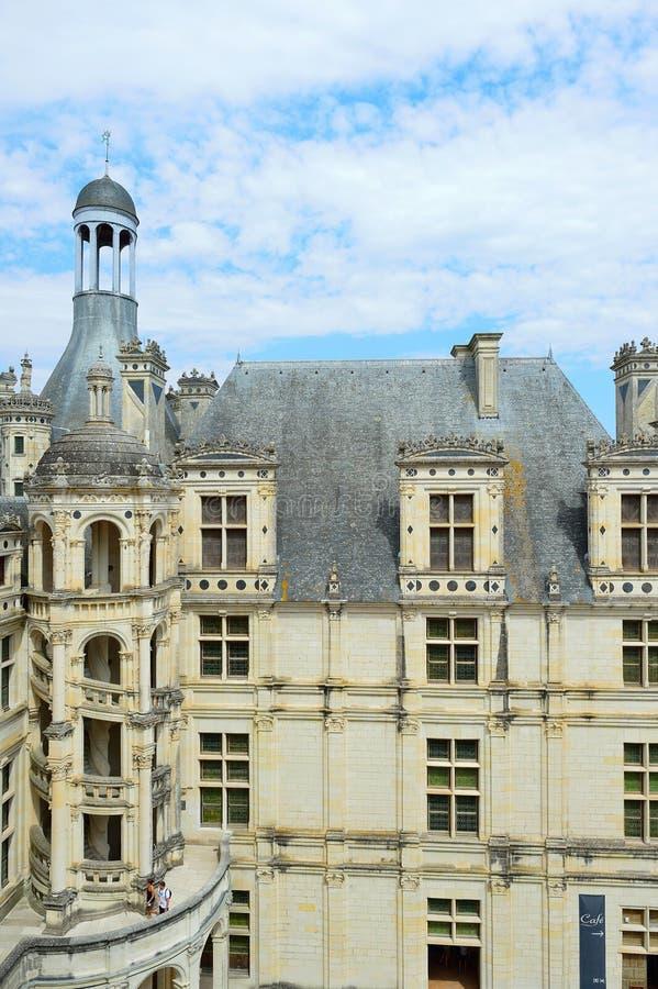 Chateau de Chambord fotografía de archivo libre de regalías