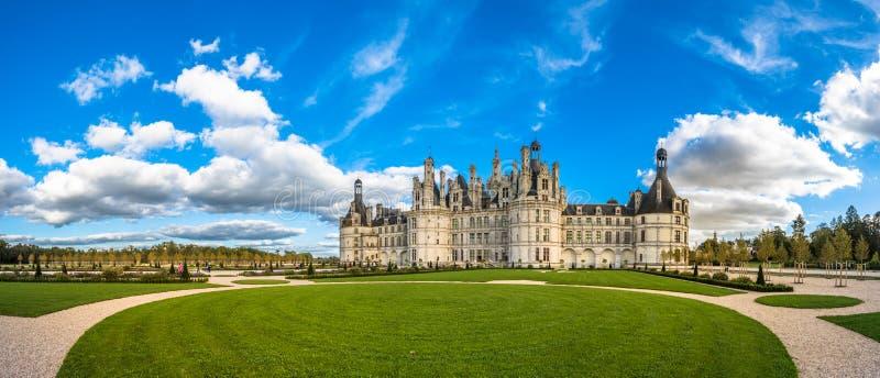 Chateau de Chambord, le plus grand château dans le Val de Loire, ATF images stock