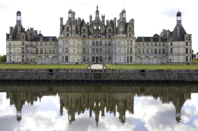 Download Chateau De Chambord, Loire Valley, France Stock Photo - Image of historical, cosson: 208946
