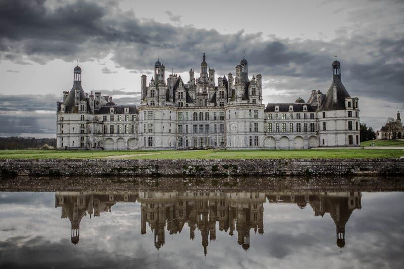 Chateau de Chambord royalty free stock image