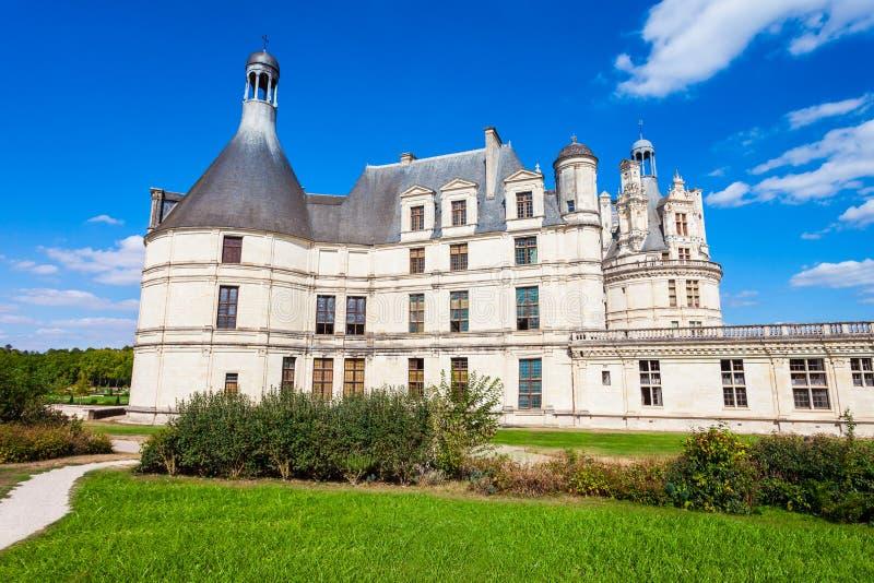 Chateau de Chambord slott, Frankrike arkivfoton