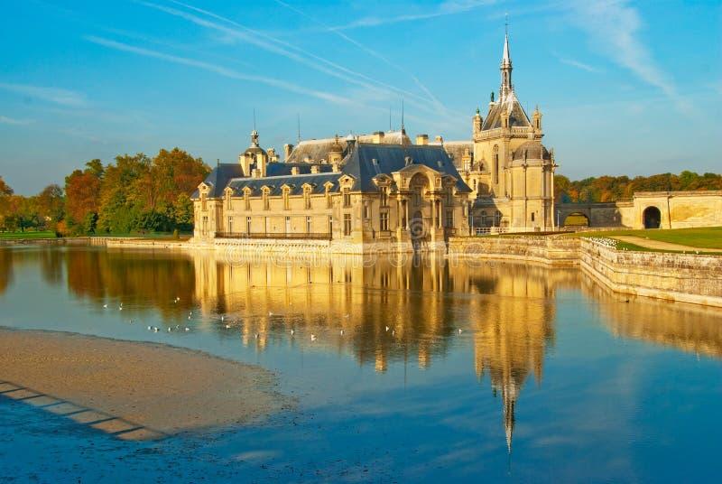 Chateau de Chantilly immagini stock
