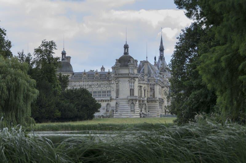 Chateau de Chantilly royalty free stock photos