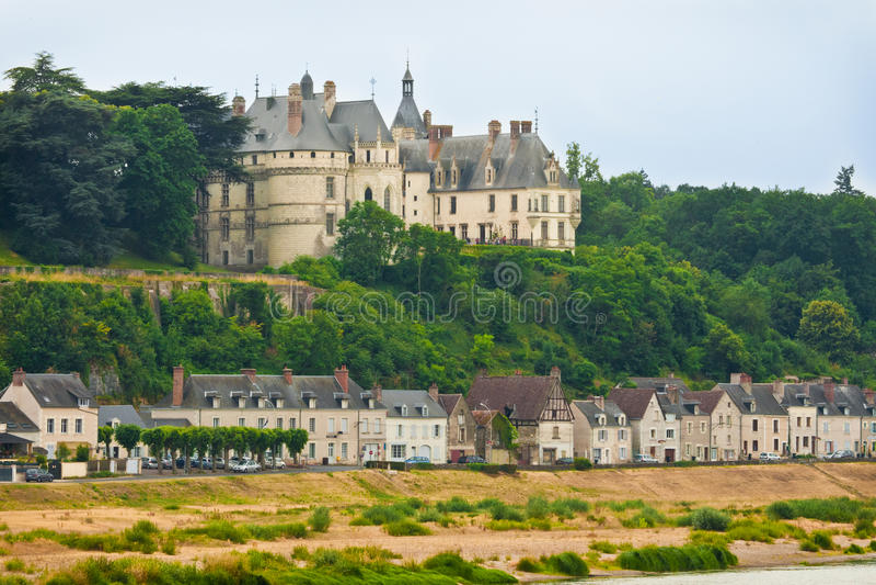 Chateau de Chaumont royalty free stock image