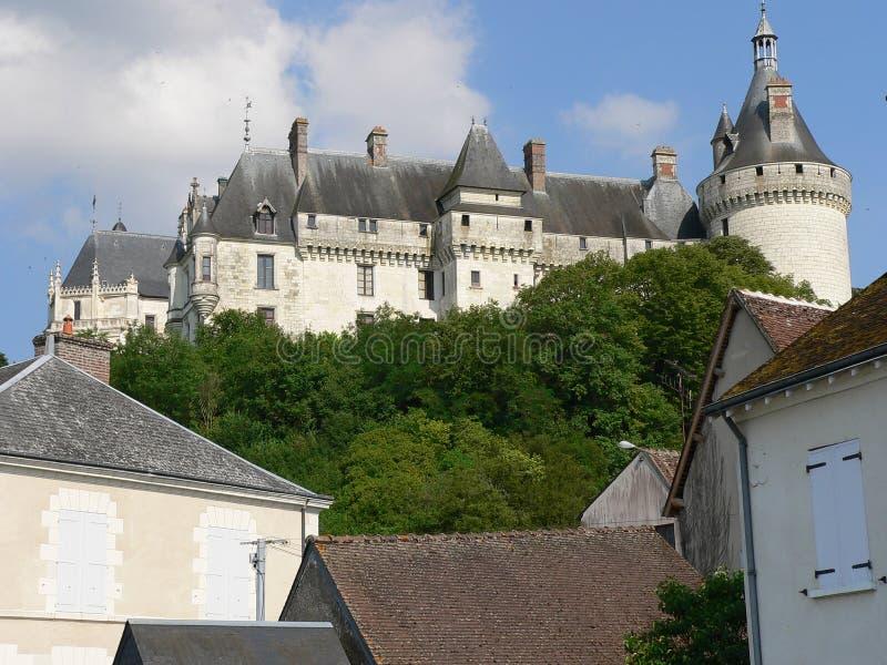 Chateau de Chaumont, France stock photos