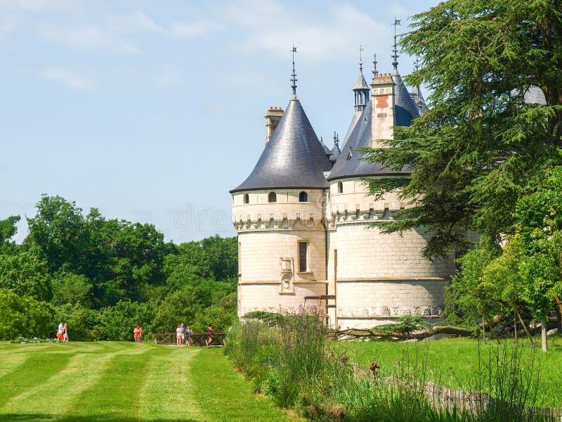 Chateau de Chaumont-s-Loire royalty-vrije stock afbeeldingen