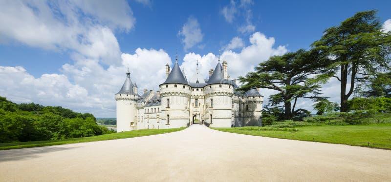Chateau de Chaumont-sur-Loire, France. royalty free stock photography