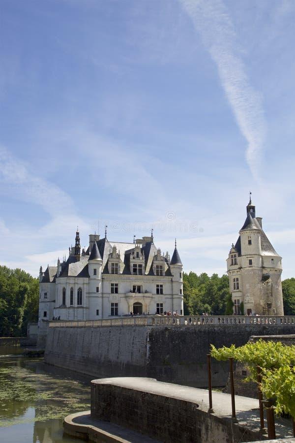 Chateau de Chenonceau fotografía de archivo libre de regalías