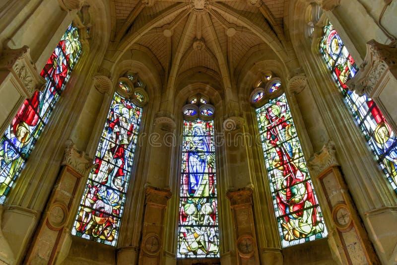 Chateau de Chenonceau Chapel - France royalty free stock images