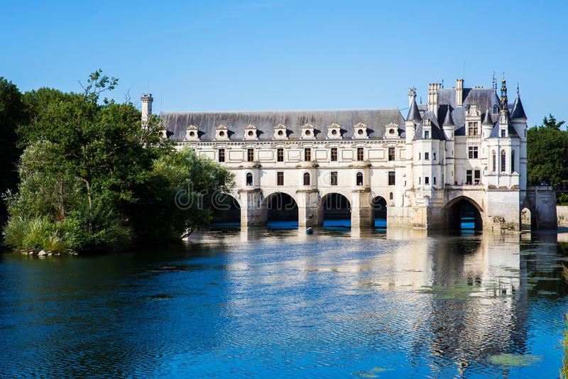 Chateau de Chenonceau, Loire Valley, France photographie stock