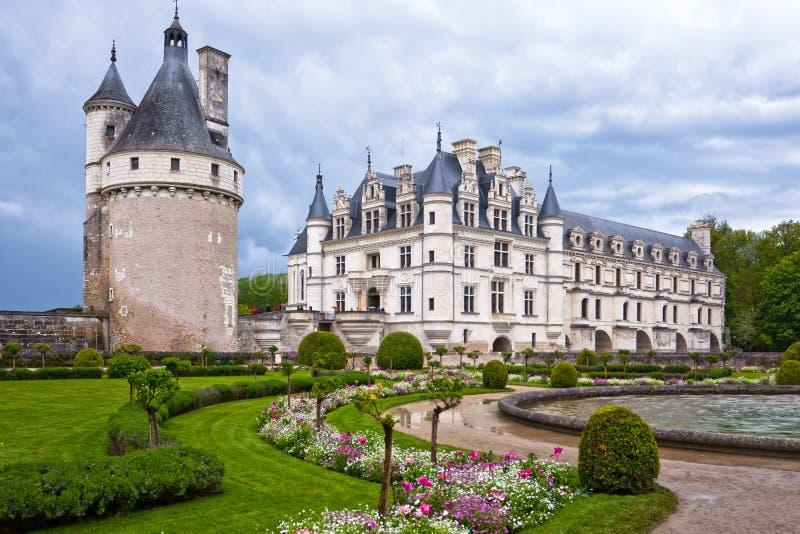 Chateau de Chenonceau, Loire Valley, Frankreich stockfotografie