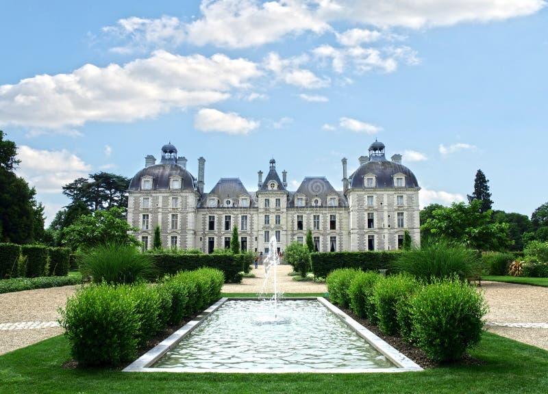 Chateau DE Cheverny stock foto's