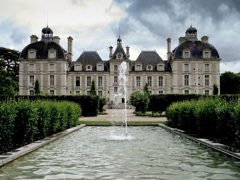 Chateau DE Cheverny stock foto