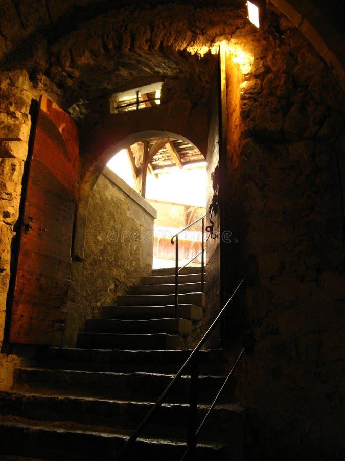 Chateau de Chillon 11 stock image