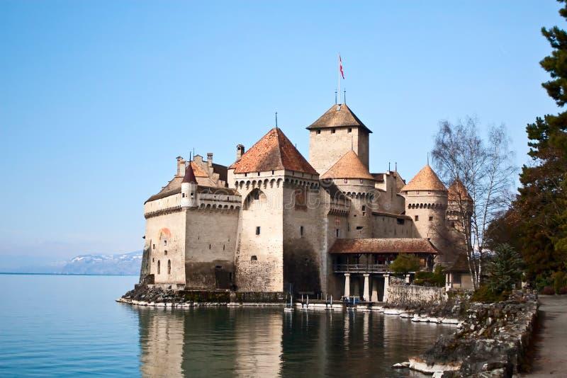Chateau de Chillon. Near Montreux, Switzerland stock photography