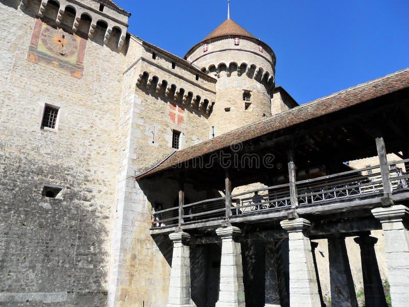 Chateau de Chillon photo stock