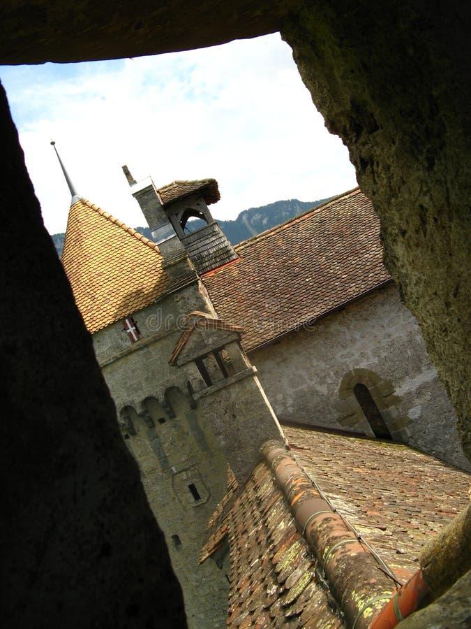 Chateau de Chillon 24 royalty free stock photos