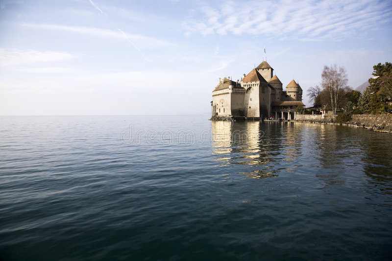 Chateau de Chillon royalty free stock image