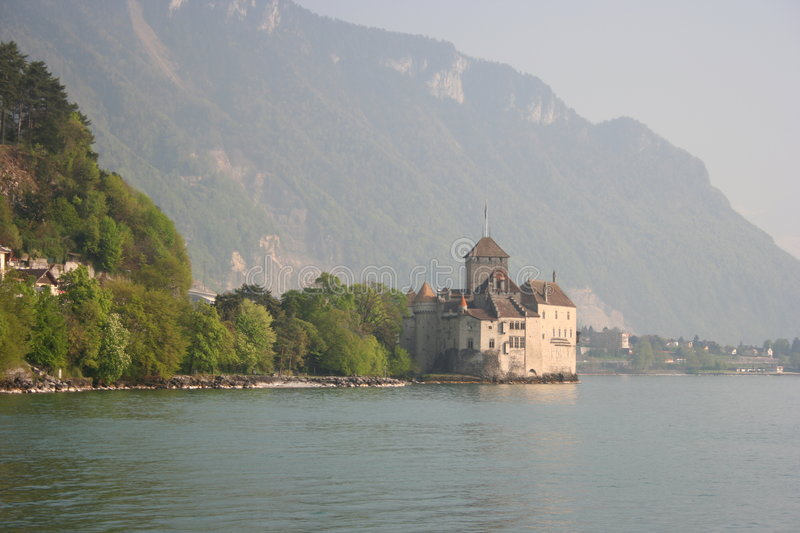 Chateau De Chillon, Montreux Royalty Free Stock Images