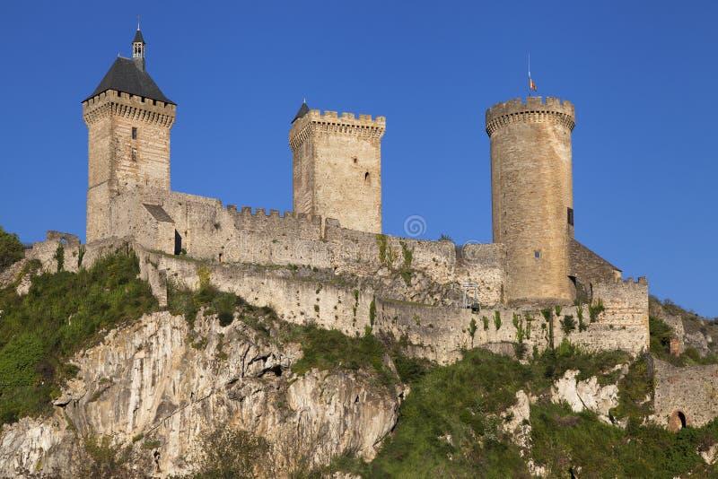 Chateau de Foix imágenes de archivo libres de regalías