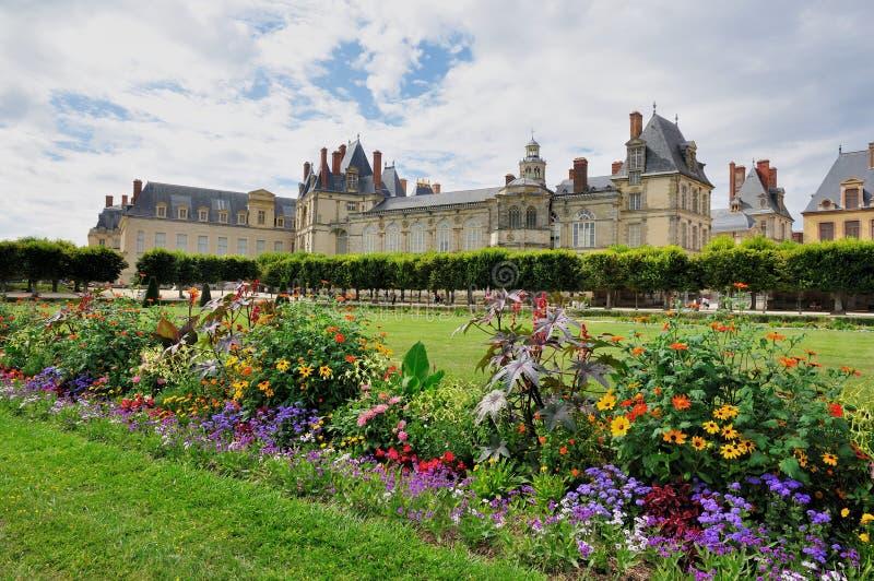 Chateau de Fontainebleau royalty free stock photo