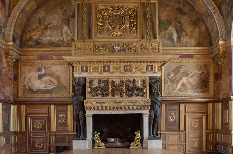 Chateau de fontainebleau france interiors details for Home decor maisons laffitte