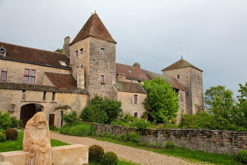 Chateau de gevrey chambertin immagine stock immagine di for Disegni di casa chateau francese