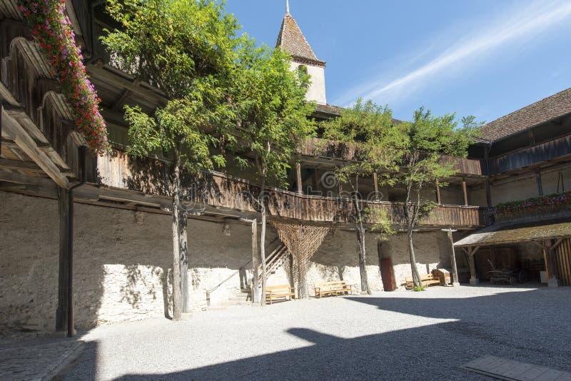 Chateau de Gruyères, Switzerland royalty free stock images