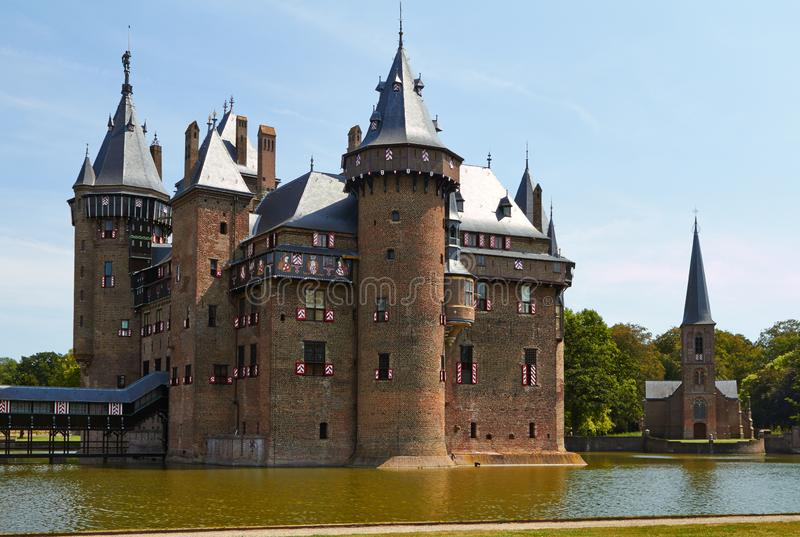 Chateau de Haar royalty free stock images