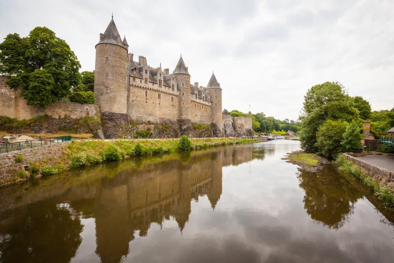 Chateau de Josselin stock images