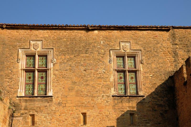 Chateau de l Emperi in salone de Provenza immagine stock libera da diritti