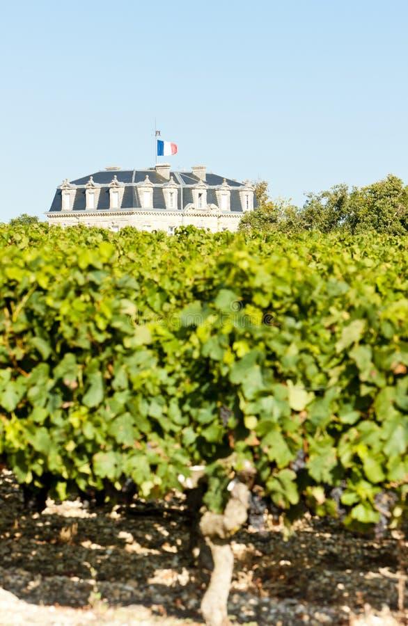 Chateau de la Tour, By, Bordeaux Region, France stock photos