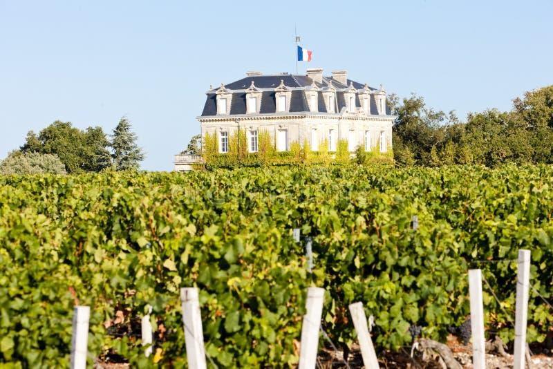 Chateau de la Tour, By, Bordeaux Region, France royalty free stock image