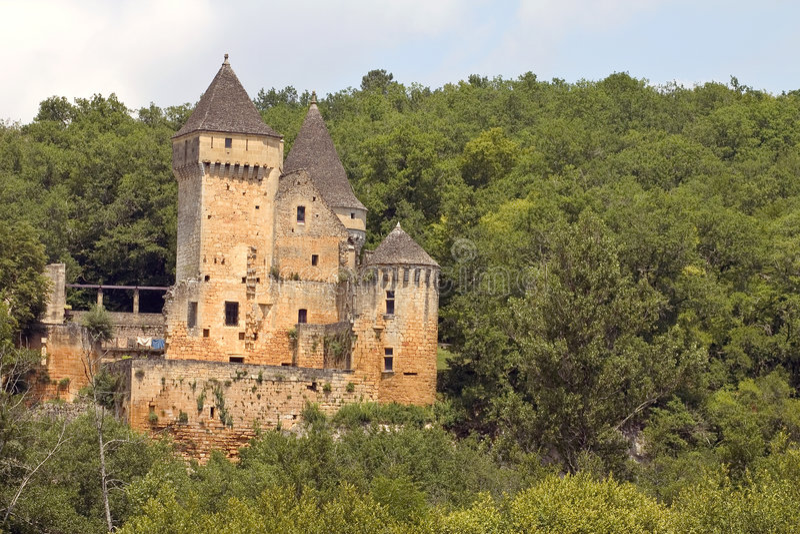 Download Chateau de Laussel, France stock image. Image of aquitaine - 1421195