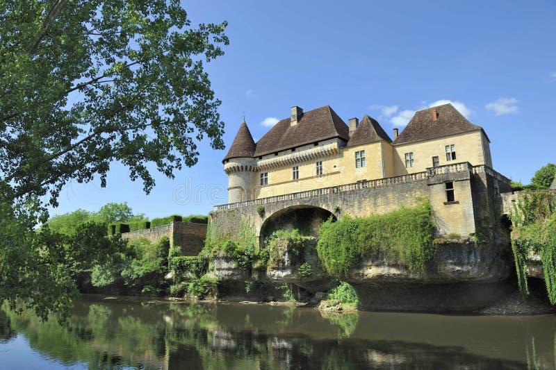 Chateau de Losse fotografia stock libera da diritti