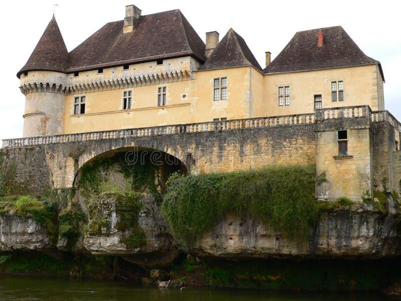 Chateau de Losse, Thonac (France) photographie stock libre de droits