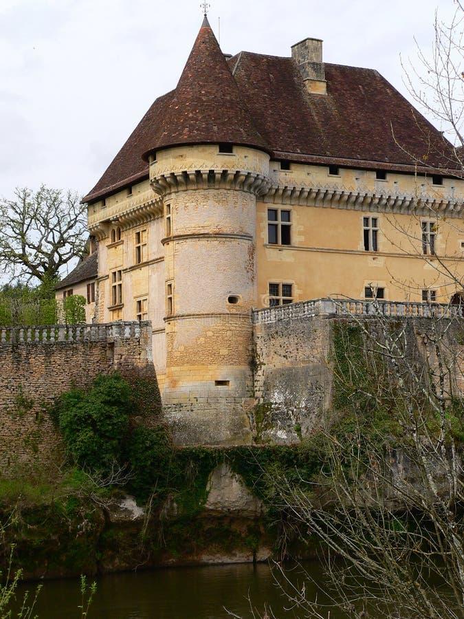 Chateau de Losse, Thonac (Frances) image libre de droits