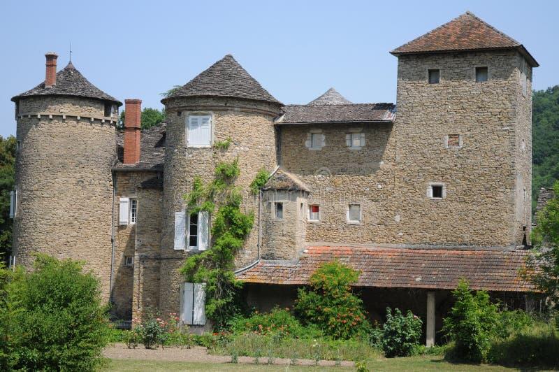Chateau De Mallin stock photo