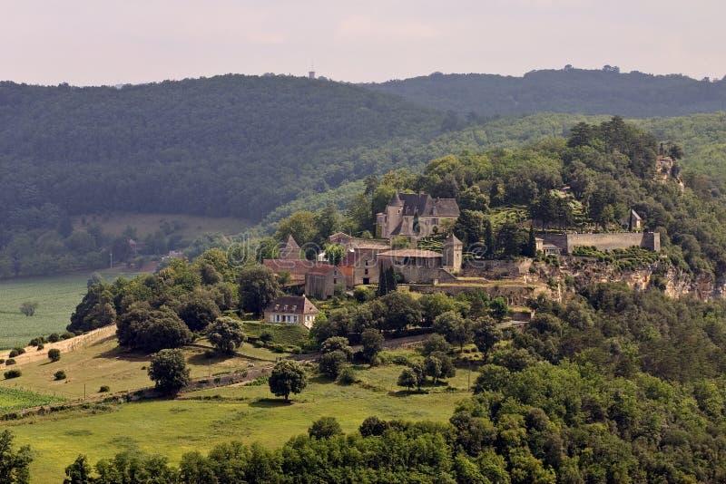Chateau de Marqueyssac, France. Chateau de Marqueyssac, Dordogne (Perigord), Aquitaine, France royalty free stock image