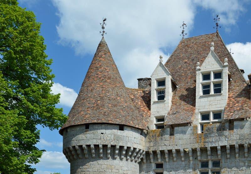 Chateau de Monbazillac fotografía de archivo libre de regalías
