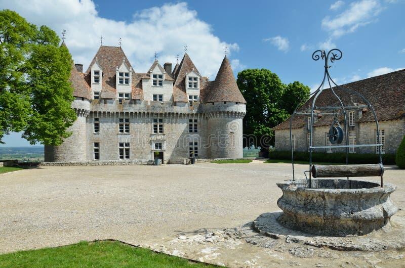 Chateau de Monbazillac images libres de droits