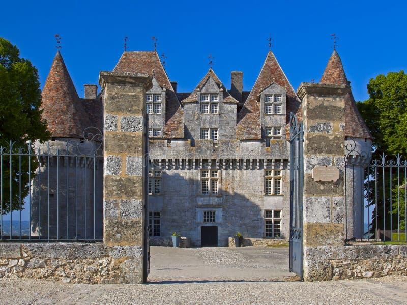CHATEAU DE MONBAZILLAC, Périgord, France photos stock